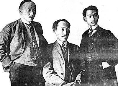 1907년 고종황제의 밀명을 받고 당시 만국평화회의가 열린 네덜란드 헤이그로 파견된 이준, 이상설, 이위종 열사의 모습. 당시 특사들은 블라디보스톡에서 시베리아 횡단철도를 타고 네덜란드 헤이그로 이동했다.(사진=국사편찬위원회)