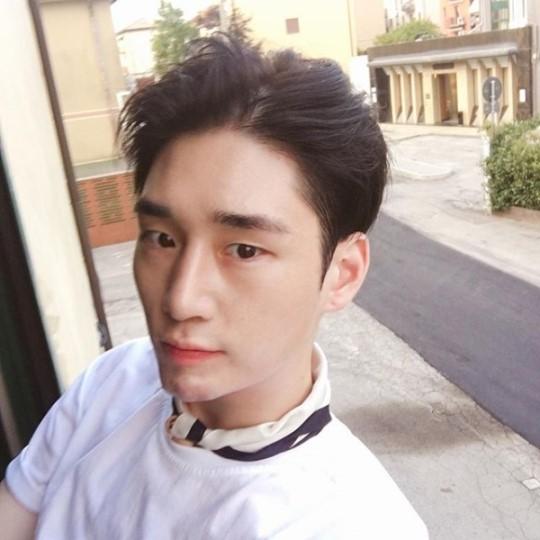 모델 김기범.사진=김기범 인스타그램 캡쳐