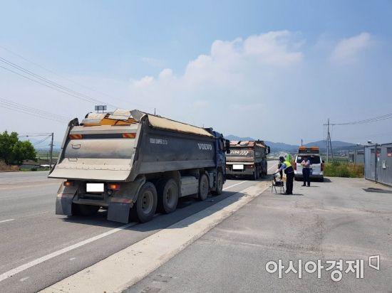 내일부터 전국 주요 도로 과적차량 합동점검