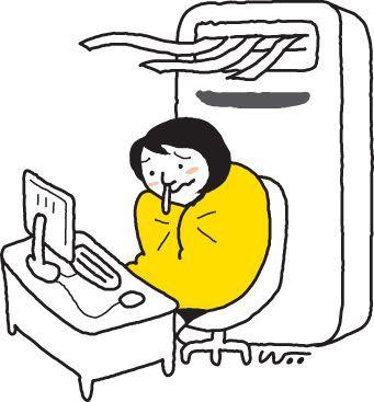 [건강을 읽다] 하루종일 에어컨, 감기인줄 알았는데 냉방병
