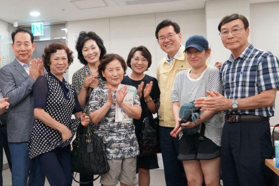 유덕열 동대문구청장 현장민원실 방문