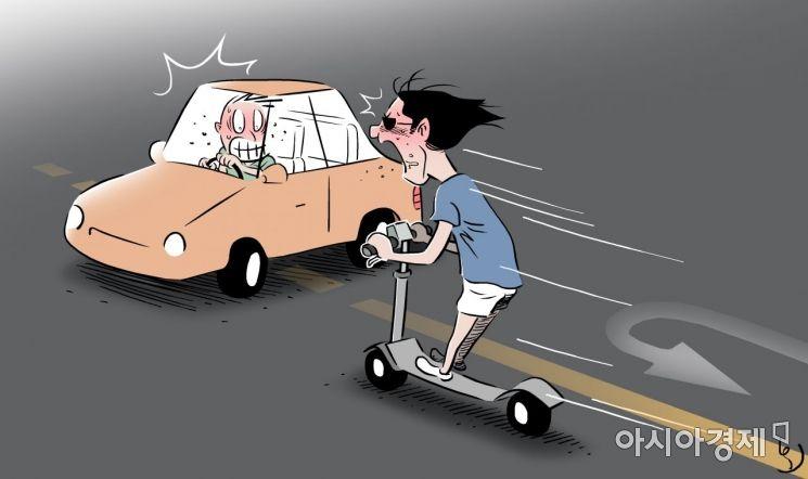 정부, 전동킥보드·전동휠 안전관리체계 만든다