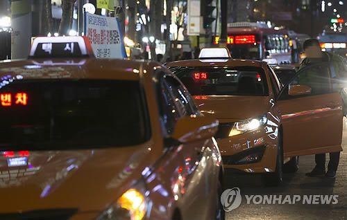 택시. 사진은 기사 중 특정표현과 관계없음. 사진=연합뉴스