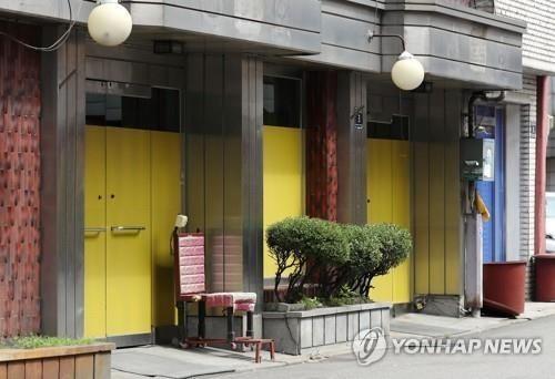 폐쇄 앞둔 인천 유일 집창촌 '옐로하우스'.사진=연합뉴스