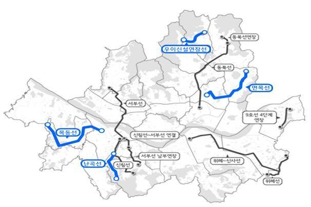 비 강남권에 설치하는 도시철도 (사진=서울시 제공)