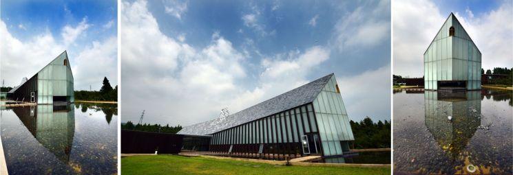성경속 노아의 방주에 착안해 건축한 방주교회