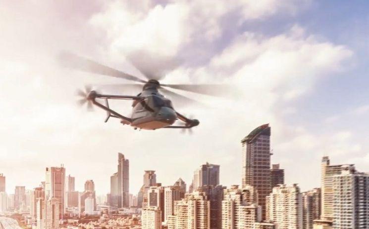 지난해 파리 모터쇼에서 선보인 '레이서'는 가장 빠른 헬리콥터로 2020년 등장할 예정입니다. [사진=에어버스 헬리콥터스 홍보영상 캡처]