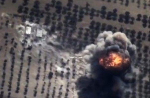 러시아군의 이들립 공습 모습(사진=EPA연합뉴스)
