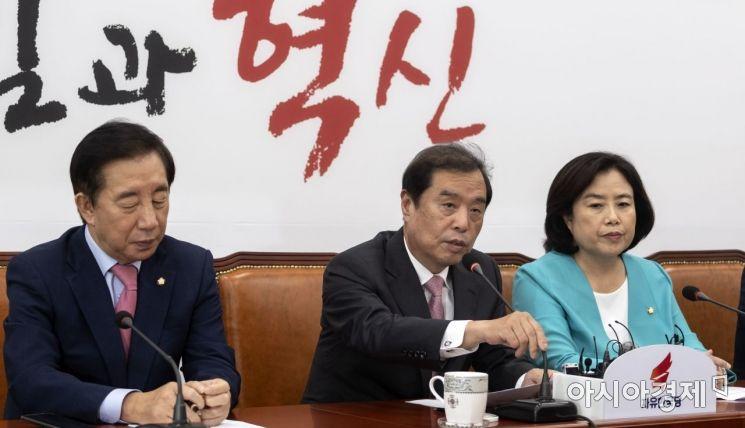 """[포토] 김병준 """"부동산 정책 오락가락"""""""