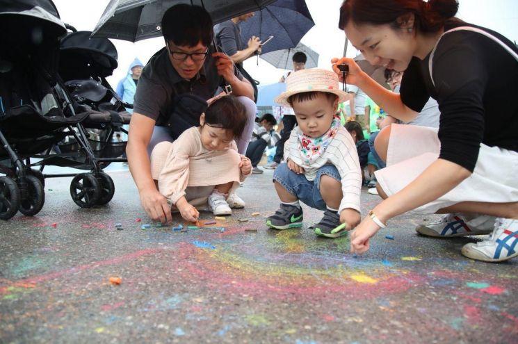 서리풀페스티벌 젊은이들 참여열기 후끈...7만명 축제 즐겨