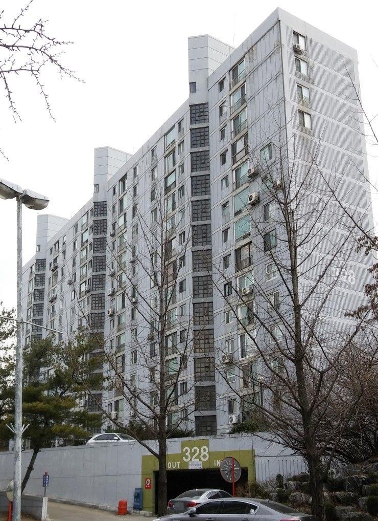 서울 송파구 방이동에 위치한 올림픽선수촌아파트 전경.