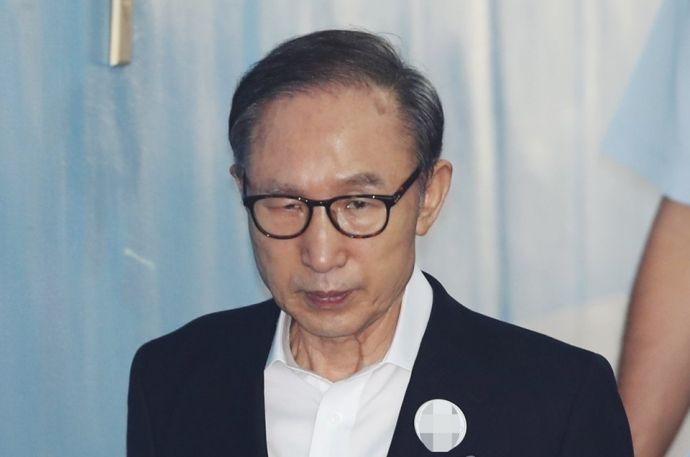 """'징역 15년' 이명박 전 대통령 항소 결정…""""1심 판결 문제점 지적할 것""""(종합)"""
