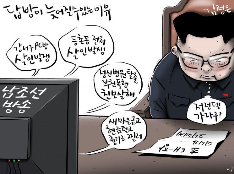 [오성수의 툰] 김정은 답방이 늦어질수있는 이유