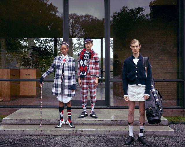 제일모직이 선보인 브랜드 '톰브라운'의 '골프 캡슐 컬렉션'