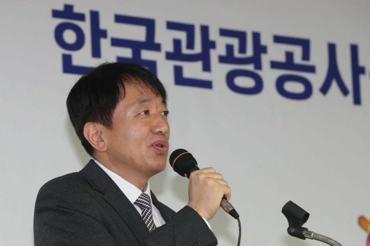 안영배 한국관광공사 사장<이미지출처:연합뉴스>