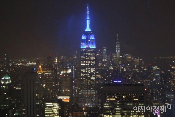뉴욕 엠파이어 스테이트 빌딩.(사진=송승윤 기자)