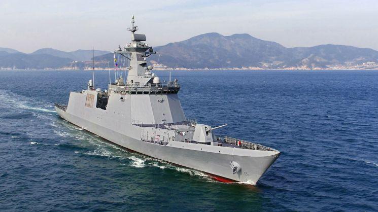 해군 신형 호위함 대구함