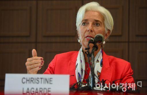 새 유럽중앙은행 총재에 크리스틴 라가르드 현 IMF 총재