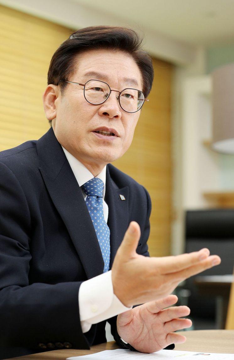 """이재명 """"매년 2천명 노동자 죽어""""…'중대재해기업처벌법' 제정 촉구"""
