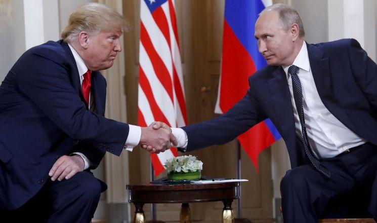 도널드 트럼프 미국 대통령(왼쪽)과 블라디미르 푸틴 러시아 대통령 (사진=AP연합뉴스)