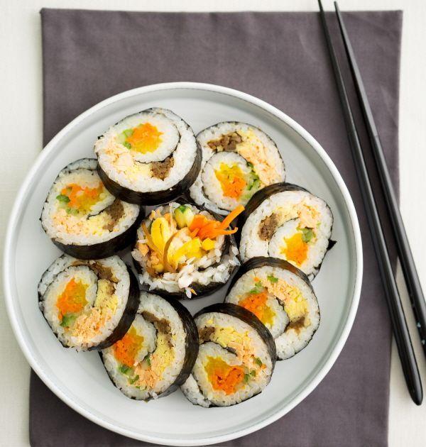 소용돌이 김밥. 기사와는 상관없음.