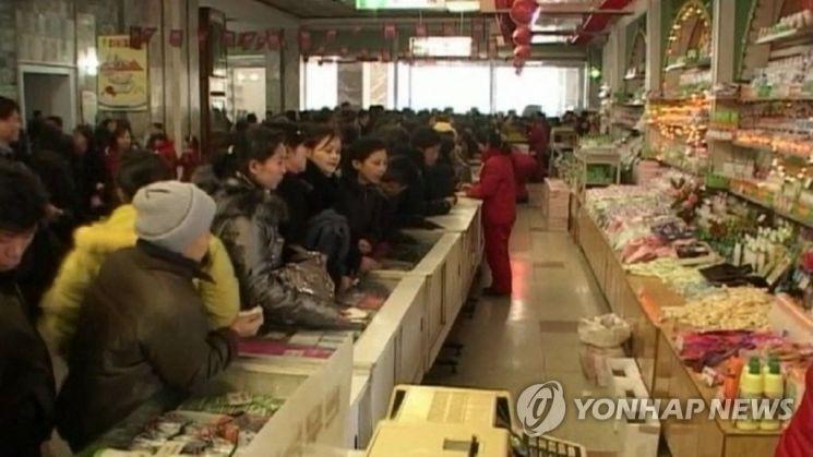 북한 장마당.사진=연합뉴스