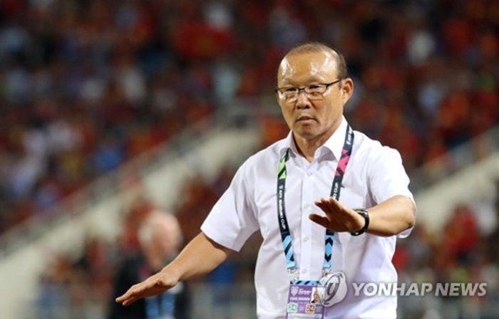 박항서 감독이 '세계적 명장' 에릭손과의 지략 대결에서 승리했다. 사진=연합뉴스