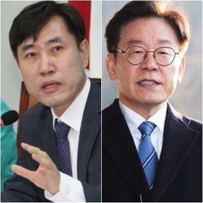 하태경 바른미래당 최고위원(좌) 이재명 경기지사(우)사진=연합뉴스