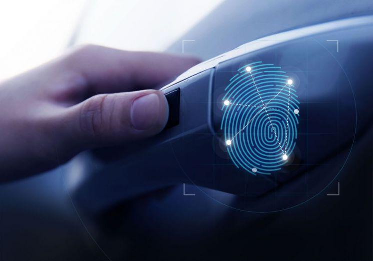 현대차, 스마트 지문인증 출입 시동 시스템 개발/ 기사와는 무관