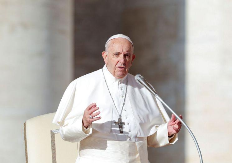 프란치스코 교황(사진=로이터연합뉴스)