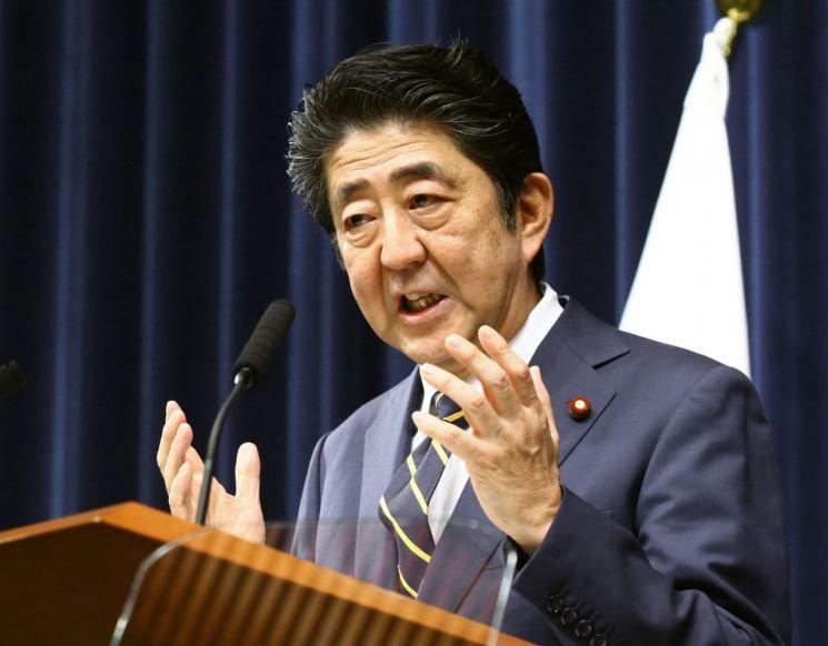 아베 신조 일본 총리 [이미지출처=연합뉴스]