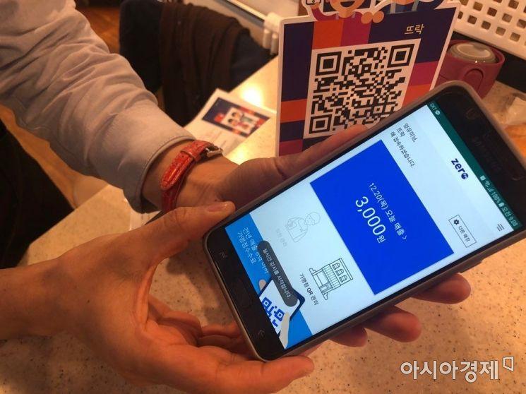 서울시 제로페이 사용업체 6만개 육박…자영업자 9% 수준