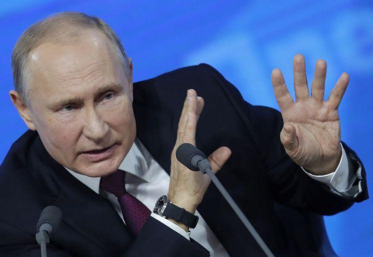 블라디미르 푸틴 러시아 대통령 (사진=연합뉴스)