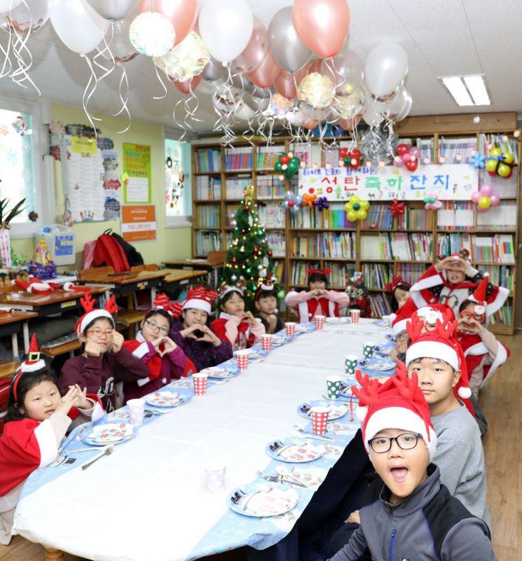 하이트진로, 지역아동센터 아이들 위한 특별한 크리스마스