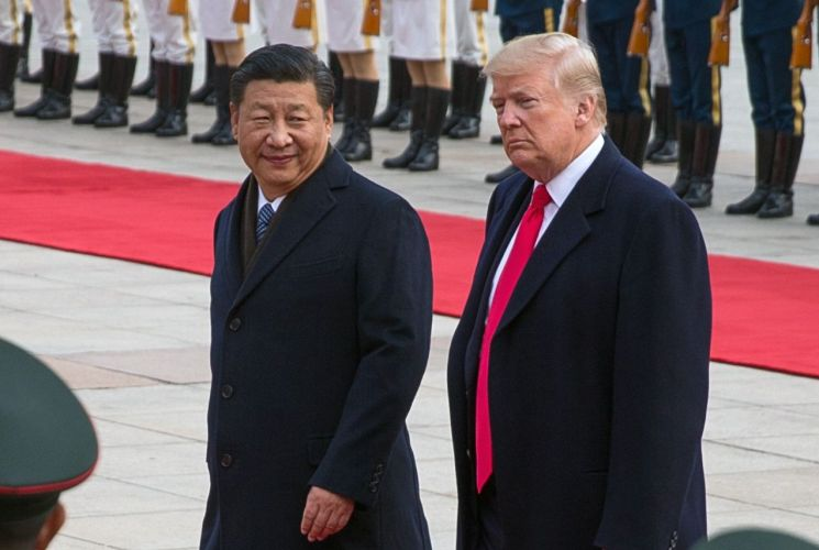 도널드 트럼프 미국 대통령과 시진핑 중국 국가주석. 자료사진. 출처=EPA연합뉴스
