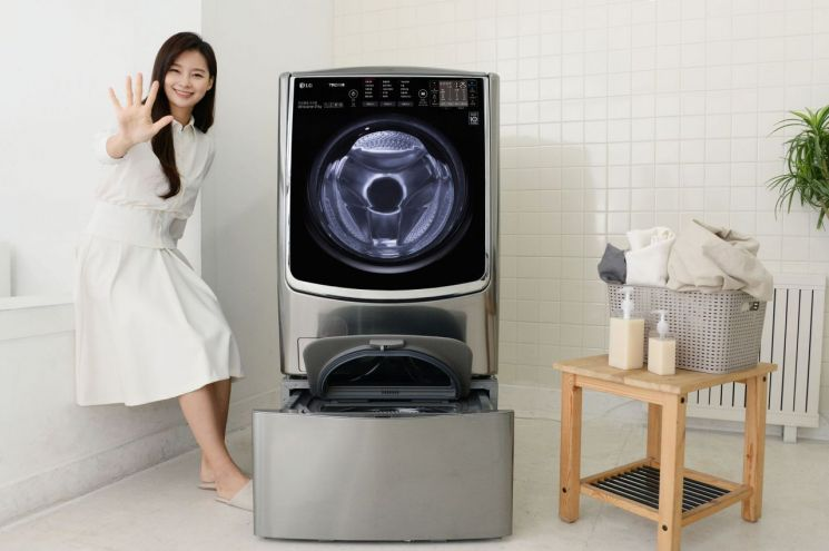 LG전자, 드럼세탁기 신제품 '트롬 플러스' 출시