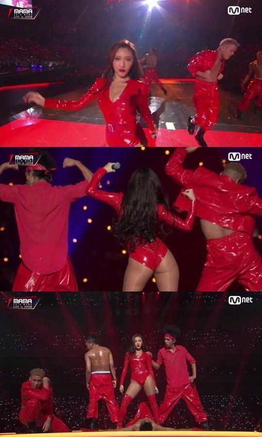사진=Mnet '2018 MAMA JAPAN' 방송 캡처
