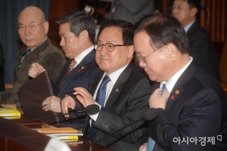 [포토]새해 첫 국정현안점검조정회의
