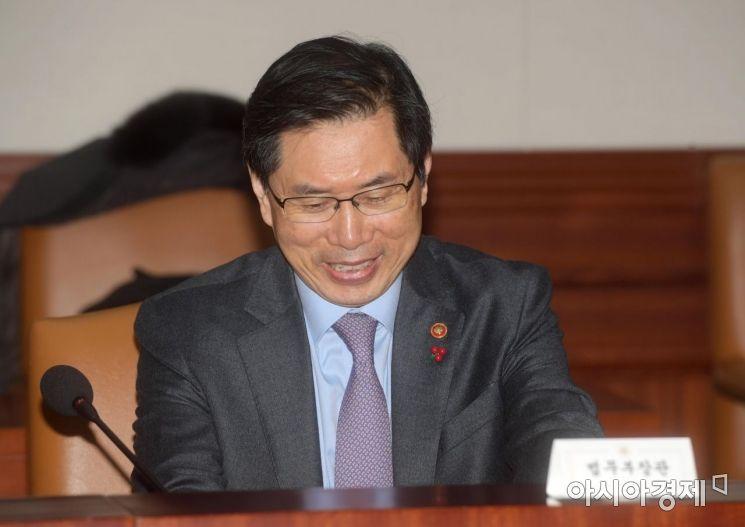 [포토]박상기 법무부 장관의 미소