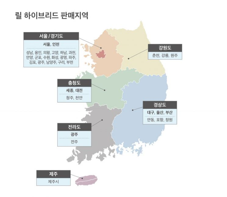 KT&G '릴 하이브리드', 전국 주요 대도시로 판매지역 확대