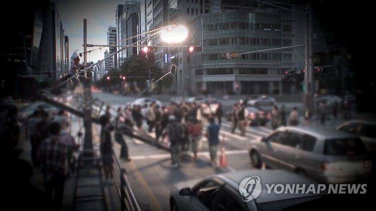 드라마 촬영현장. 사진은 기사 중 특정 표현과 관계 없음. 사진=연합뉴스