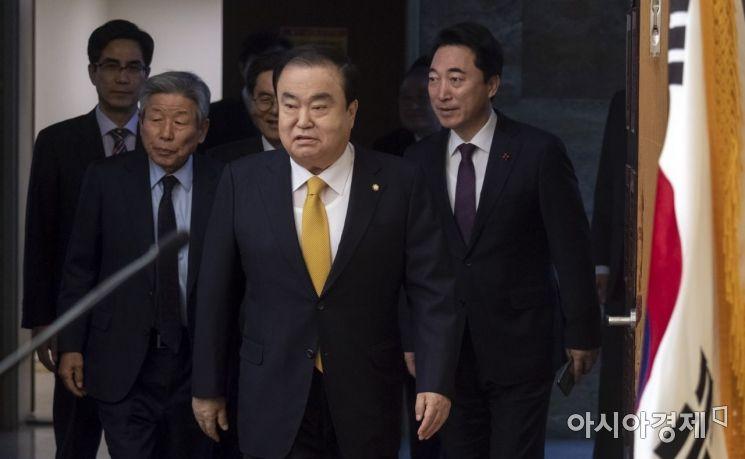 [포토] 문희상 국회의장, 신년 기자회견