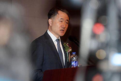 [포토]의료계 신년하례회 찾은 박능후 보건복지부 장관