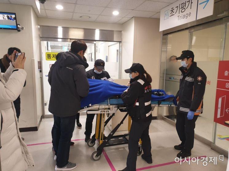 신재민, 보라매병원 응급실서 건강상태 점검 중