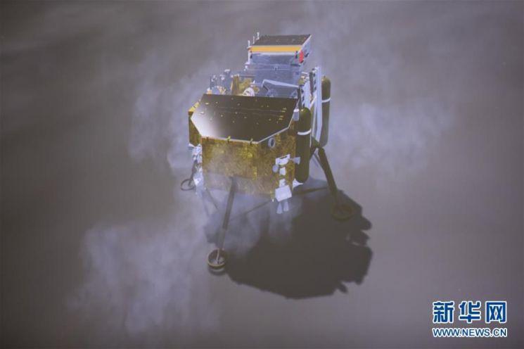 [포토]중국 탐사선, 최초의 달 뒷면 착륙