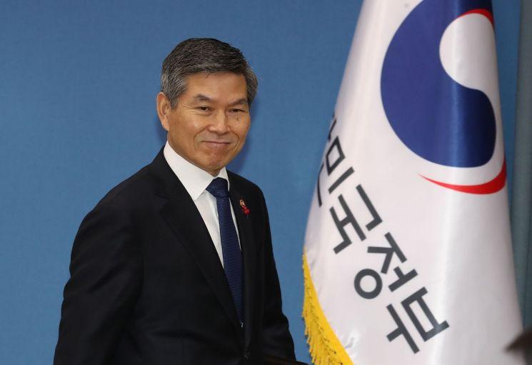 정경두 국방부 장관 [이미지출처=연합뉴스]