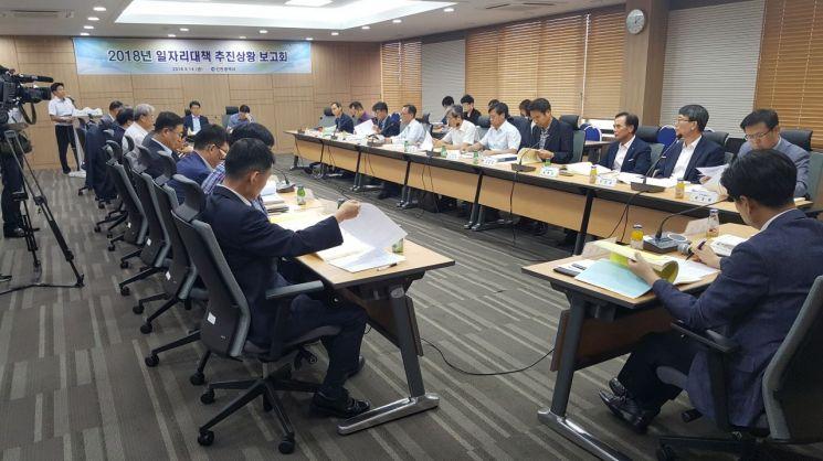 인천시 일자리대책 추진상황 보고회