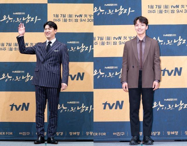 김상경과 여진구가 '왕이 된 남자'로 만났다. 사진=tvN