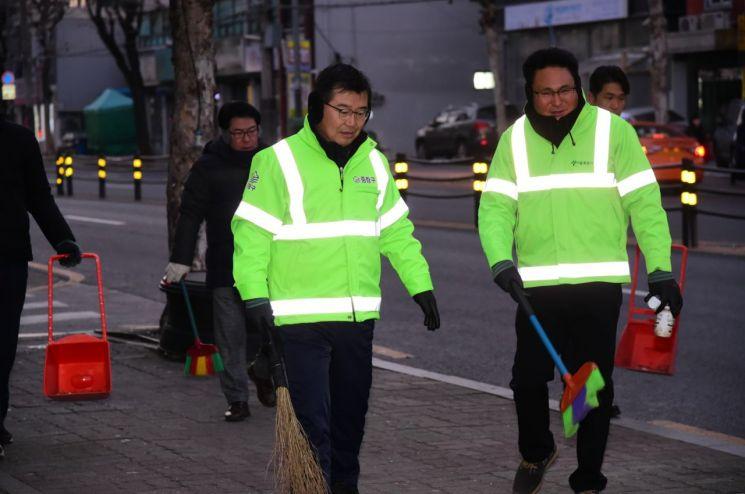 2019년에도 류경기 중랑구청장의 청소 소통 계속된다