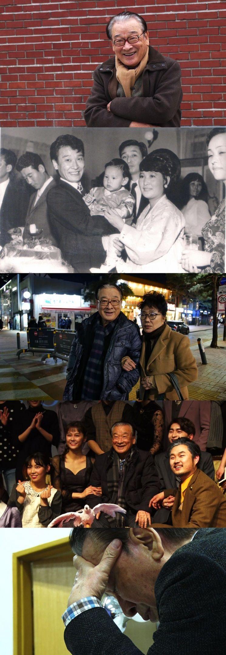 '인간극장'에 출연하는 이순재. 사진=KBS 1TV 제공